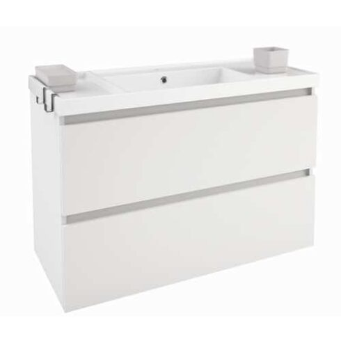 Mueble de baño moderno BBOX blanco