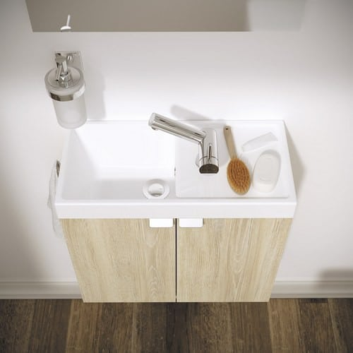 Mueble de baño pequeño >BBox