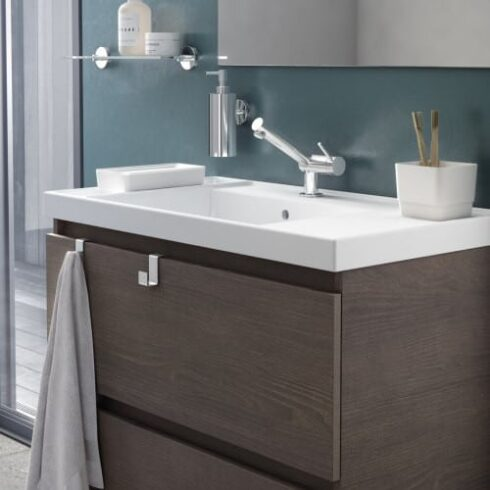 Mueble de baño Moderno BBOX wengue