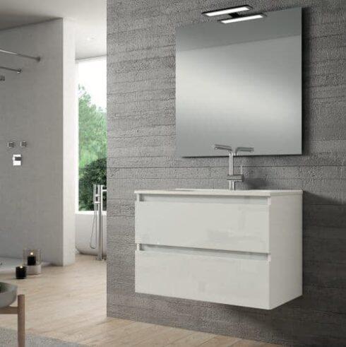 Mueble de Baño BOX Blanco