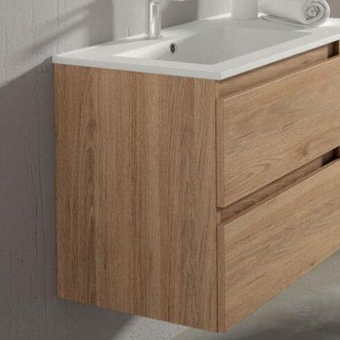 Mueble de Baño BOX Roble