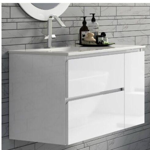 Mueble de baño Carmen 2 cajones + Puerta