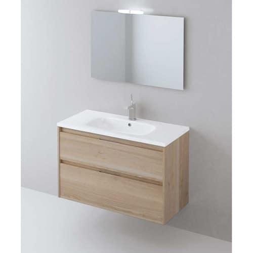Mueble de Baño Nuevo carmen 2 cajones Roble