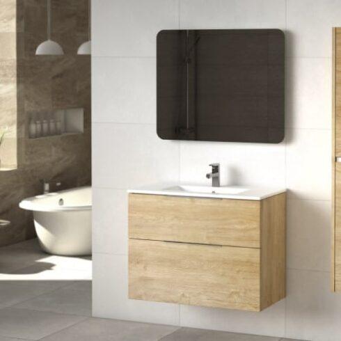 Mueble de baño COMET roble