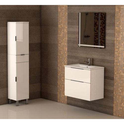Mueble de baño comet blanco