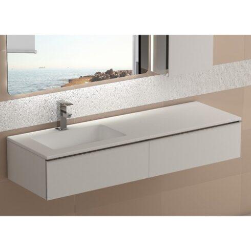 Mueble de Baño DUO blanco mate 120cm