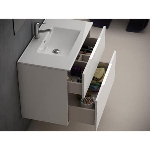 Mueble de Baño de oferta Galsaky blanco