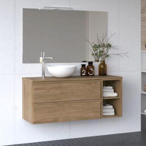 Mueble de baño LINE ELE roble