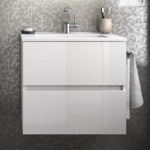 Mueble de baño de diseño FUSSION blanco