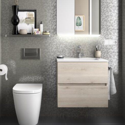 Mueble de Baño FUSSION olmo uñero