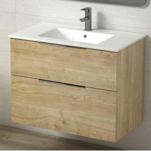 Mueble de baño galsaky roble