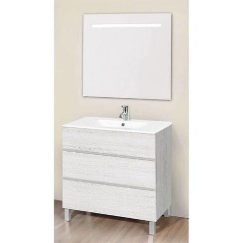 Mueble de Baño ARTICO Roble Blanco