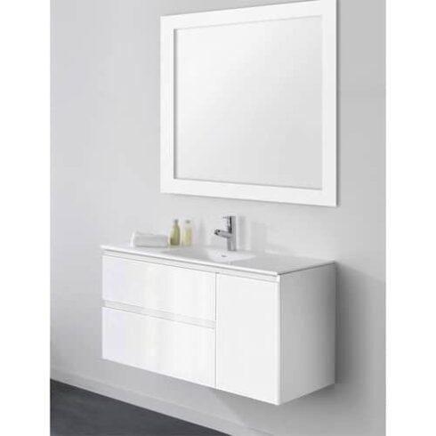 Muebles baño Dallas Blanco