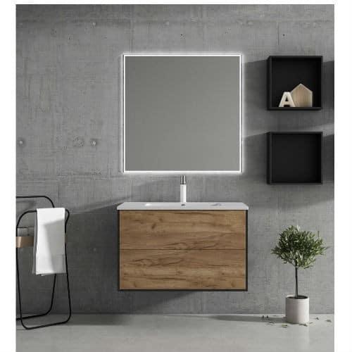Mueble de Baño PULL Nogal