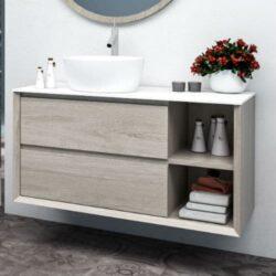 Mueble de Baño Hole Gris