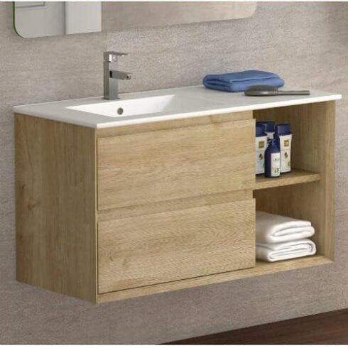 Mueble Baño HOLE Roble
