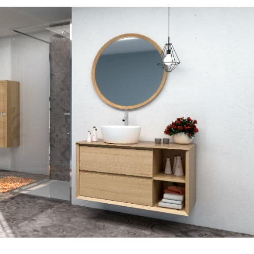 Mueble Baño NEW HOLE Roble