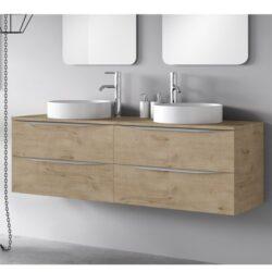 Mueble de baño roble Landes