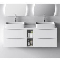 Mueble de baño landres balnco 140cm