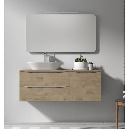 Mueble de baño landes roble