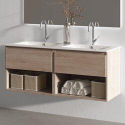Mueble de baño roble LINE 120cm