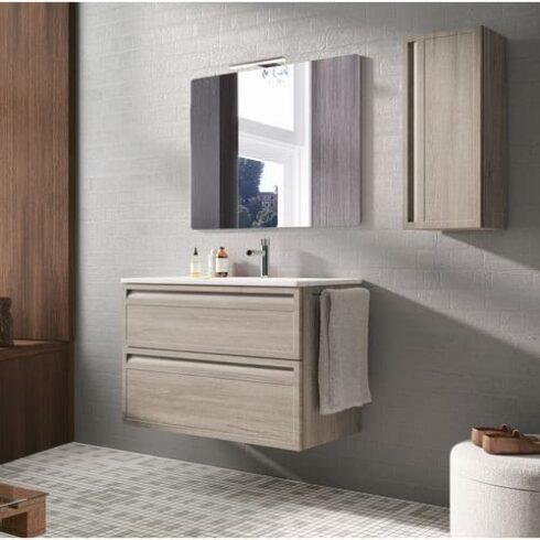 Mueble de baño Marina Roble