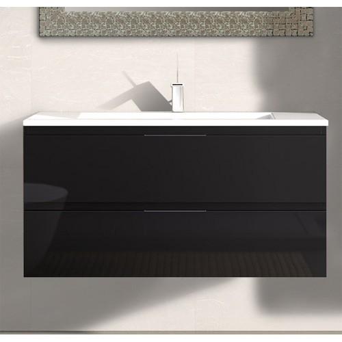 Mueble de baño Modena Negro