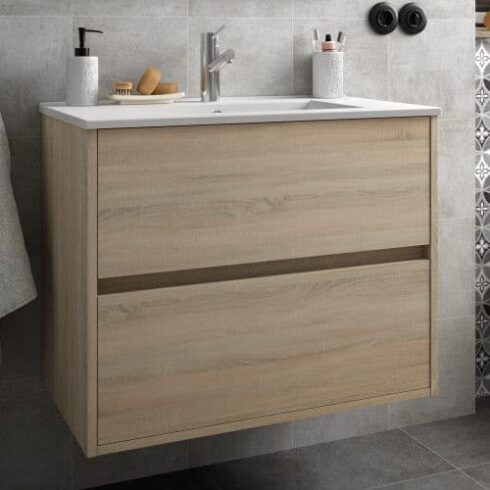 Mueble Baño Noja roble