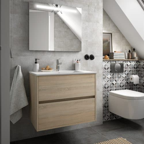 Mueble de baño NOJA ROBLE