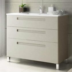 Mueble de baño Paris 3 cajones beig