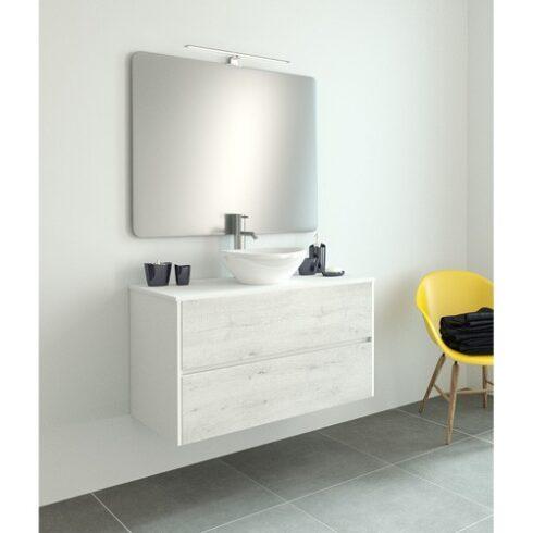 Mueble de Baño Paula WHITE roble blanco