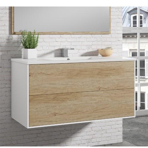 Mueble de baño PUSH roble