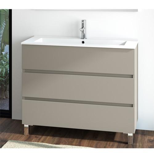Mueble de baño de 3 cajones Fussion