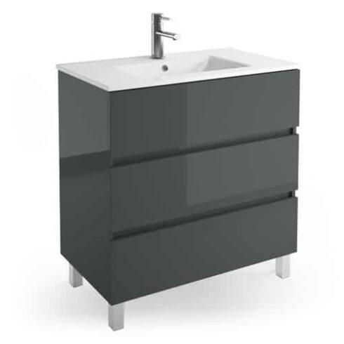 Mueble de baño con patas Fussion