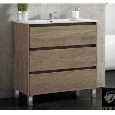 Mueble baño de 3 cajones Segos