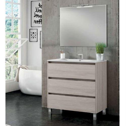 Mueble con patas Segos Roble Blanco
