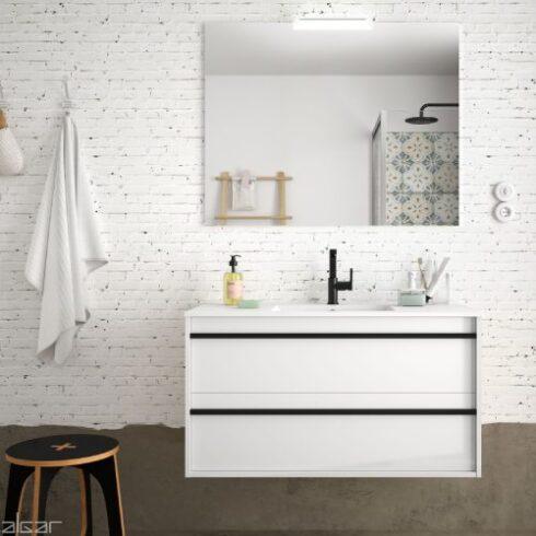 Muebles de baño baratos Atilla Blanco