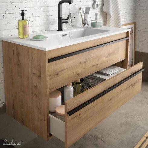 Muebles de Baño baratos Atilla Roble