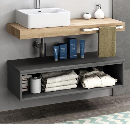 Mueble bajo sifon Flow