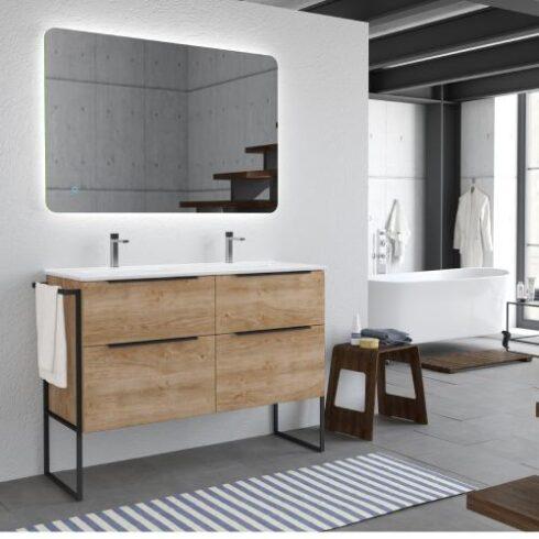 Mueble de Baño estilo industrial Galsaky