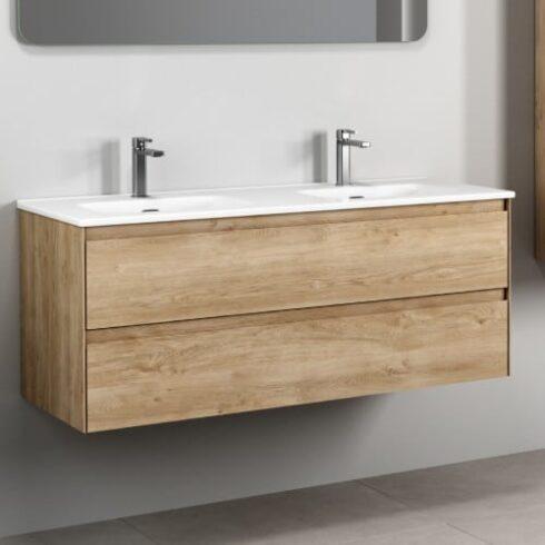 Mueble de baño Roble de 120cm Praga