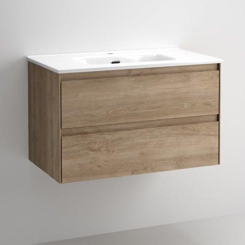 Mueble de baño Praga Roble
