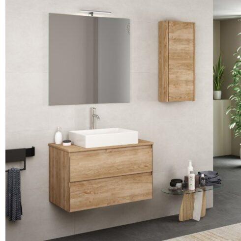 Mueble de baño Praga de sobre encimera