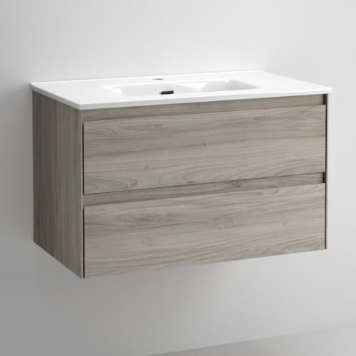 Mueble de baño praga Roble Gris