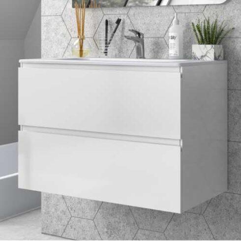 Mueble de Baño ELEWHITE blanco mate