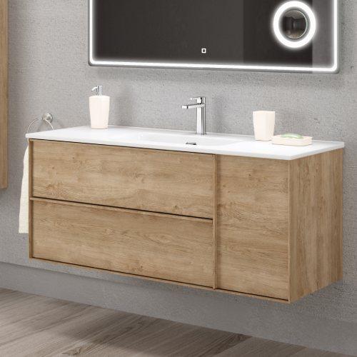 Mueble Baño moderno Roble