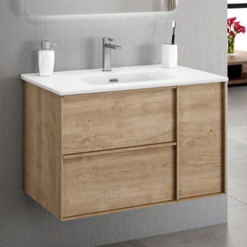 Mueble Baño Oslo roble