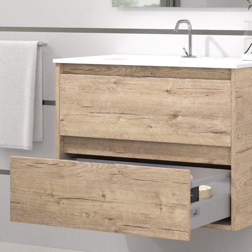 Muebles de Baño baratos ETNA roble