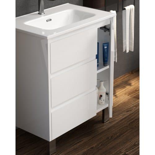 mueble de baño cervino abierto