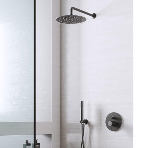 conjunto de ducha empotrado minimal